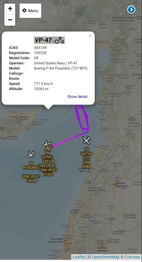 احتمال ارتباط گشتزنی۴فروند هواپیمای جاسوسی آمریکابا انفجار بیروت +تصاویر