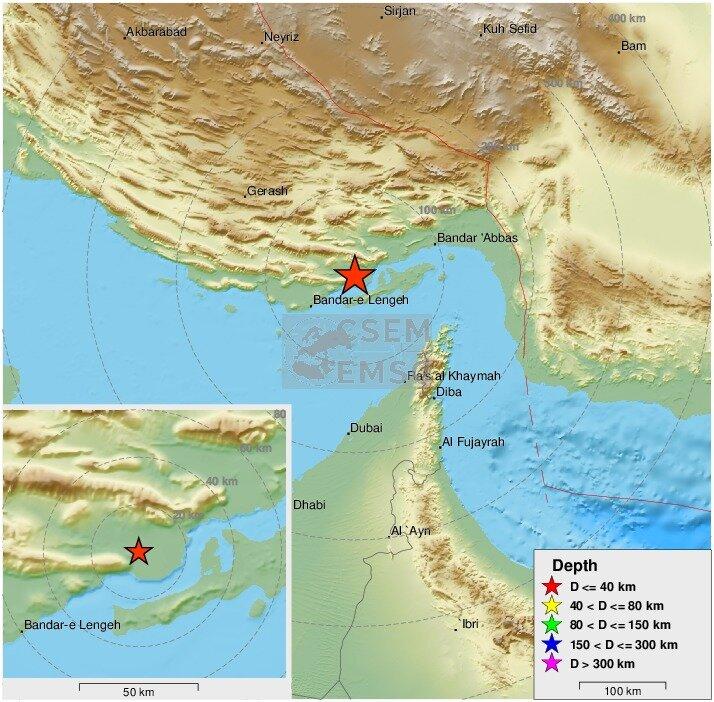 زمینلرزه ۵.۵ ریشتر در خلیج فارس/ اعزام تیمهای ارزیاب
