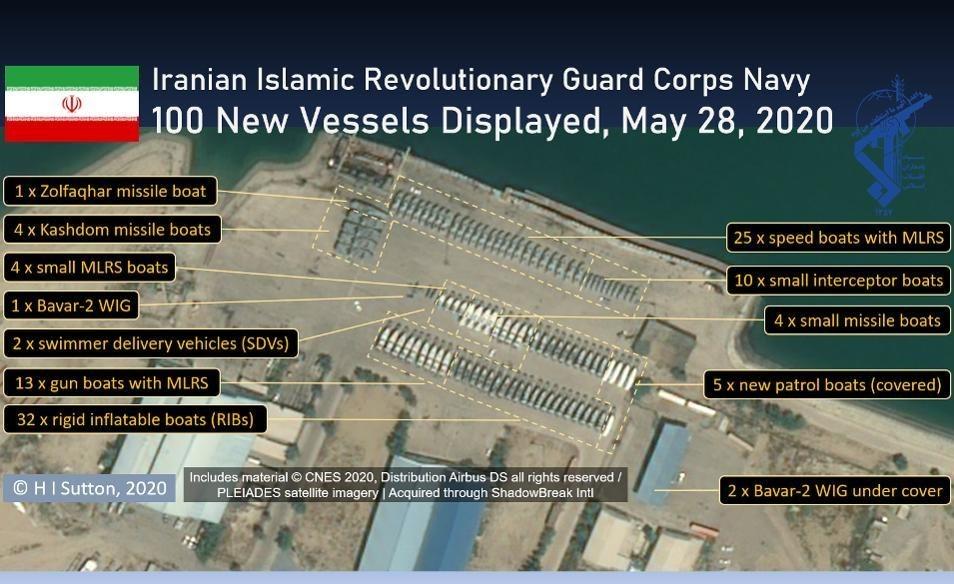 دست پرِ سپاه در حراست از خلیج فارس