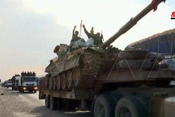 ورود نیروهای تازهنفس ارتش سوریه به دو ریف الرقه و الحسکه