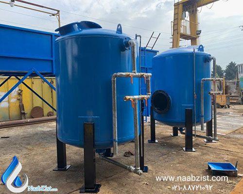 فیلتر شنی و کاربردهای آن در تصفیه آب