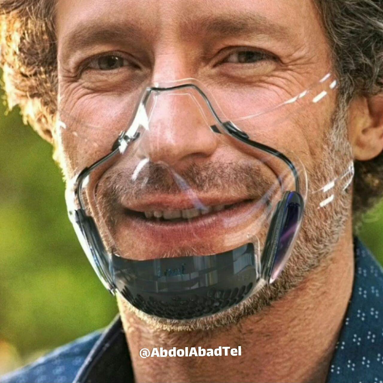 نخستین ماسک شفاف دنیا که لبخند شما را پنهان نمی کند