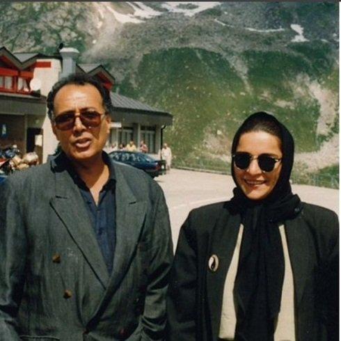 عباس کیارستمی و تهمینه میلانی