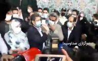 همتی رای خود را در حسینیه ارشاد به صندوق انداخت