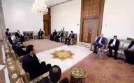 قالیباف در جریان سفر اقتصادی به سوریه با بشار اسد گفتگو کرد