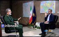 مصاحبه با سردار حاجیزاده یک سال پس از حمله موشکی به پایگاه آمریکایی